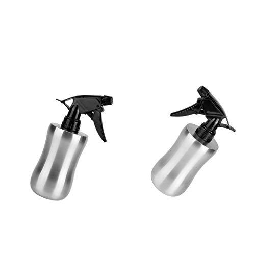 FLAMEER 2pcs Flacon pulvérisateur Bouteille d'arrosage en Acier Inoxydable