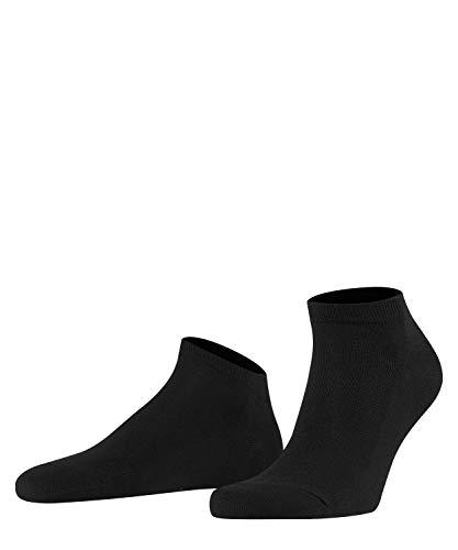 FALKE Herren Sneakersocken Family - 94% Baumwolle, 1 Paar, Schwarz (Black 3000), Größe: 43-46