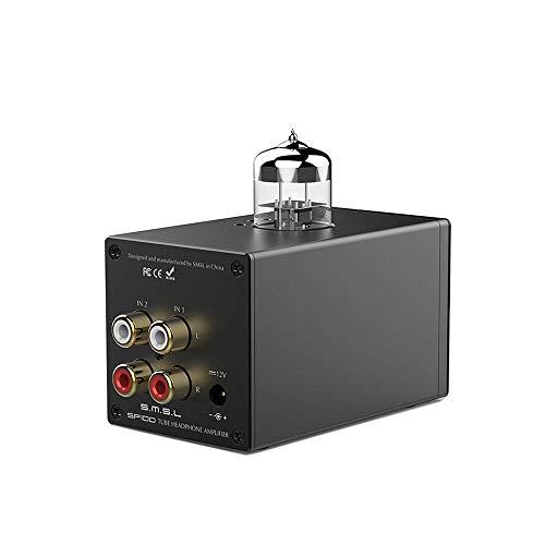 Docooler SMSL SP100 HiFi-Röhren-Headset-Verstärker Kopfhörerverstärker 6N3 Elektrische Röhre NE5532 Doppel-Operationsverstärker TOCOS Lautstärkeregelungspotentiometer Unterstützt Cinch