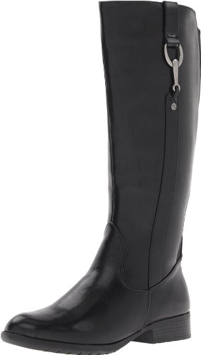 Hot Sale LifeStride Women's X-Ibit 2 Wide Calf Boot,Black,6.5 M US