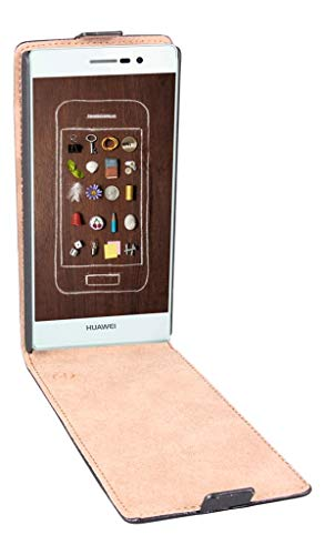 PATONA Slim Cover Klapp-Tasche Schutz-Hülle Cover Hülle für Huawei P8 GRA-L09
