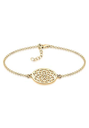 Elli Armband Damen Traumfänger Symbol Boho Hippie in 925 Sterling Silber