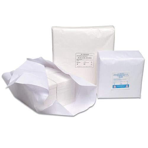 Cura Farma Apósitos no estériles cortados 40 x 40 cm gasa de algodón hidrófila absorbente 1 kg – Original cuidado Farma – 1000 g