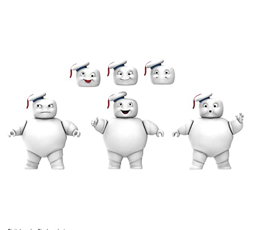Ghostbusters Plasma Series Mini-Pufts 3.5-Inch Movie-Scale Collectible Afterlife Action Figure 3-Pack for Kids Ages 4 and Up