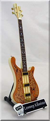 LEMMY KILMISTER Miniatur Gitarre Motorhead mit Plektrum