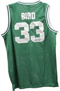 Celtics Larry Bird Autographed Shirt Steiner Coa and Hologram