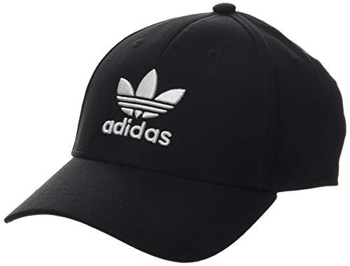 adidas Baseball Classic Trefoil Schirmmütze, Schwarz (Black Ec3603), (Herstellergröße: One Size)