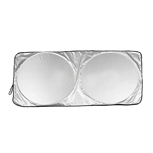 KXLBHJXB Frost Guard Cubierta del Parabrisas Protector Solar del Coche Cubiertas del Parabrisas FrostThe Sun Visor Mantiene Su Vehículo Fresco Y Sin Daños (Color : 160X86)