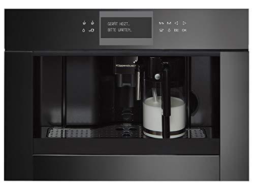 Küppersbusch CKV 6550.0 S K-Series - Cafetera espresso (5 empotrada), color negro