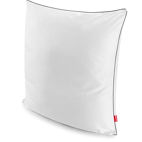 Blumtal Kopfkissen 80 x 80 cm - Kissen, Schlafkissen, 850g anpassbare Füllung, 100% Mikrofaser, 1er-Set
