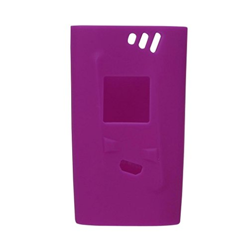 Protective Case, Egmy Popular Silicone Protective Skin Case Cover For Smok Alien 220W (Purple)