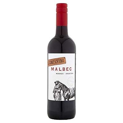 El Companero Malbec Mendoza, Argentinian Red Wine, 1 x 750ml