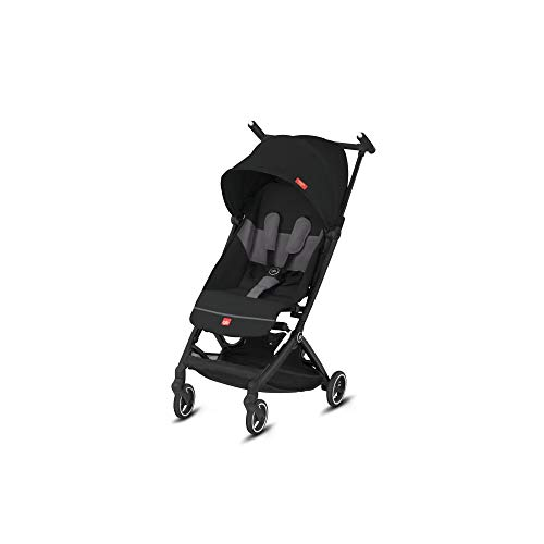 GB GOLD Pockit+ All City, Ultra Compact Pushchair, Cabin luggage compliant, From 6 Months to 22 kg (Approx 4 Years), Velvet Black