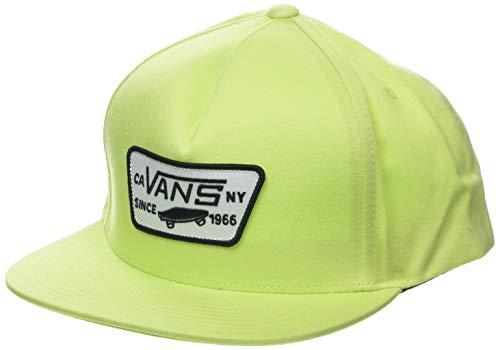 Vans MN Full Patch Snapback Gorra de béisbol, Verde (Sharp Green Sq4),...