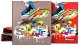 Grafoplás Carpeta de anillas Skate colores surtidos A4 cartón forrado