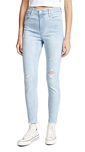 Levi's Mile Damen Jeans High Super Skinny - Blau - 24W x 30L