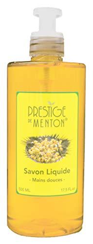 Savon liquide mains parfumé Agrumes Gourmands - Prestige de Menton, Artisan Parfumeur (500ml)