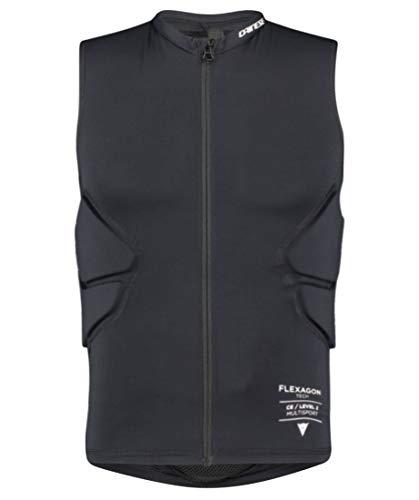 Dainese M Flexagon Waistcoat - Casco y protector para hombre (talla XL), color negro