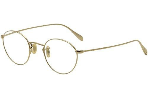 Oliver Peoples Brillen Gafas de Vista COLERIDGE OV 1186 GOLD 47/22/145 Herren