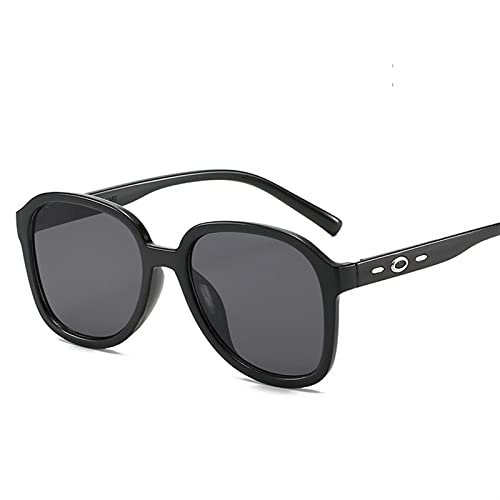 HNGM Gafas de Sol Gafas de Sol de gradiente Redondo Hombres y Mujeres Gafas de Sol Hombres y Mujeres de Moda Gafas Retro uv400 (Lenses Color : 2 JH18020 C1)