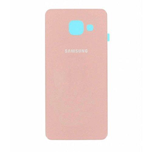 Todotumovil Tapa de bateria Cristal Trasero para Samsung Galaxy A3 2016 A310F Rosa