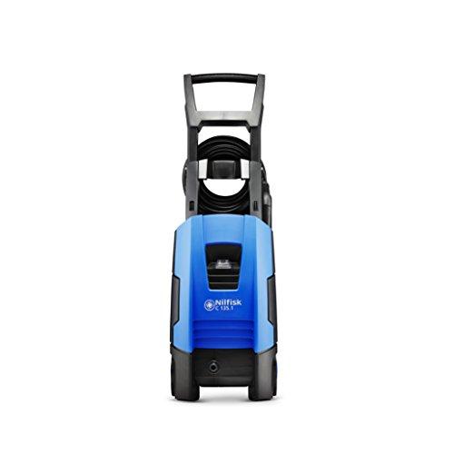 Nilfisk C135 bar C135.1 -8 Nettoyeur Haute Pression pour Usage Domestique, Extérieur, Lave-Auto et Jardinage - Moteur à Induction 1800 W, 230 V, Bleu