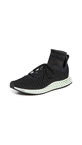 adidas by Stella McCartney Women's Alphaedge 4D Sneakers, Cblack/Cblack/Cblack, Black, 6 Medium US