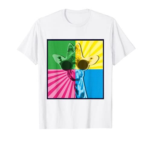 Gafas de sol Giraffe I Pop Art Colorido Animales Animales Camiseta