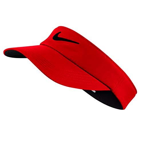 Nike Golf Tech Visor, University Red, Adjustable