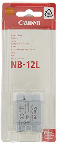 Canon 9426B001AA Akku NB-12L in grau für Canon kompatible Kameras