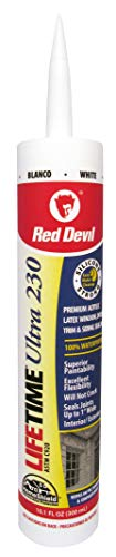Red Devil Ultra Premium Elastomeric Acrylic Latex Sealant