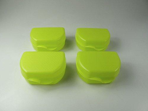 TUPPERWARE To Go Snacky limette (4) Vesperbox Brotbox Dose Vesper Box Brot