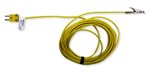Cooper-Atkins 50415-K Type K Dishwasher Thermocouple Probe with PVC Jacket Cable, -67/221° F Temperature Range