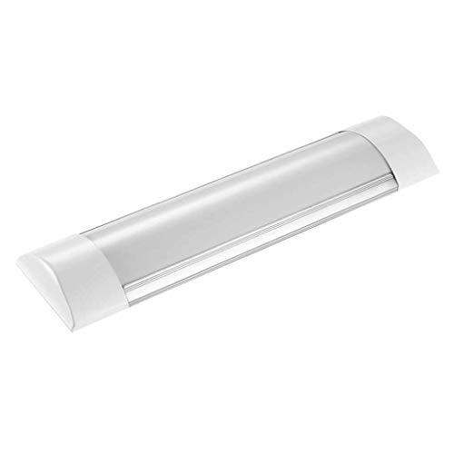 Tubo fluorescente de 10 W, 1200 lm, lámpara de limpieza LED, IP65, resistente al agua, lámpara de tubo integrada, luz integrada para cuarto de baño, Retail Store, sótano, blanco neutro