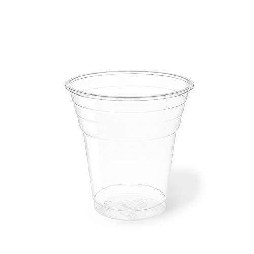 Palucart® 300 Bicchieri plastica Rigida 200cc Plastic Cups Bicchiere di plastica per Birra Kristal Bicchiere Cocktail Bar