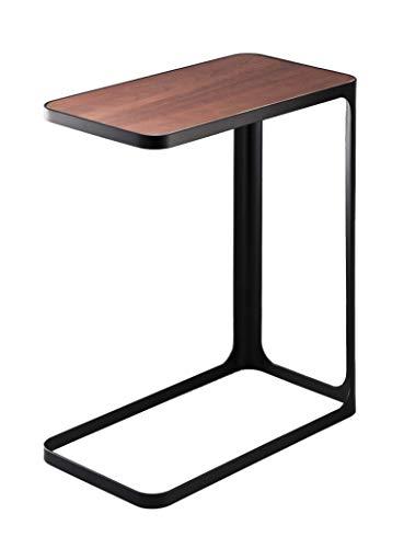 YAMAZAKI Frame Table d'appoint, Métal, Noir, Taille Unique