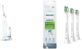 【セット品】 フィリップス 口腔洗浄器 ソニッケアー エアーフロス ウルトラ HX8632/01 + (正規品)フィリップス ソニッケアー 電動歯ブラシ 替えブラシ ホワイトプラス コンパクト3本(9ヶ月分) HX6073/67