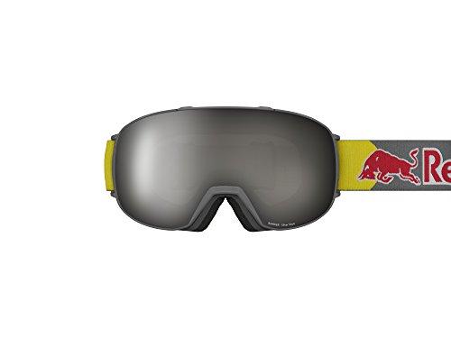 Red Bull heren sneeuwbril SPECT Eyewear Barrier mat antraciet (+bonus lens)