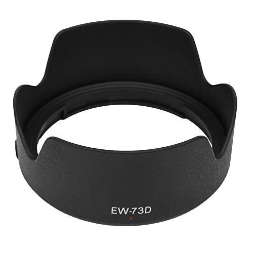 Bindpo Sostituzione Paraluce EW-73D, Copertina Parasole per Canon EF-S 18-135mm f/3.5-5.6 IS USM Obiettivo