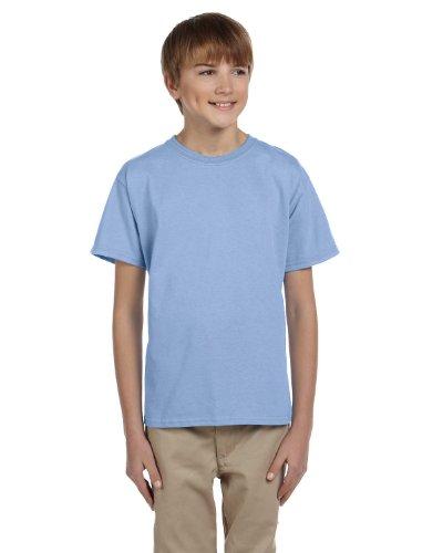youth light blue tshirt - 6
