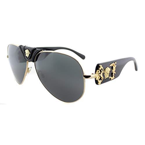 Versace 0Ve2150Q Gafas de Sol, Gold, 62 para Hombre