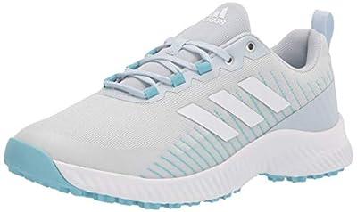 adidas womens Golf Shoe, Halo Blue/White/Hazy Sky, 11 US