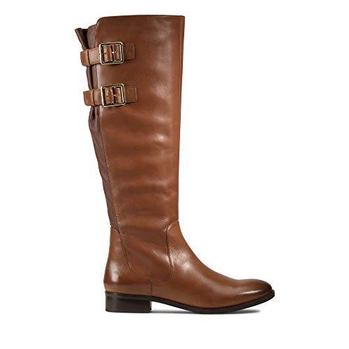 Clarks Netley Ride, Botines para Mujer, Marrón (Tan Leather Tan Leather), 35.5 EU