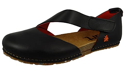art Creta Ballerinas Damen Schwarz/Rot - 38 - Ballerinas Shoes