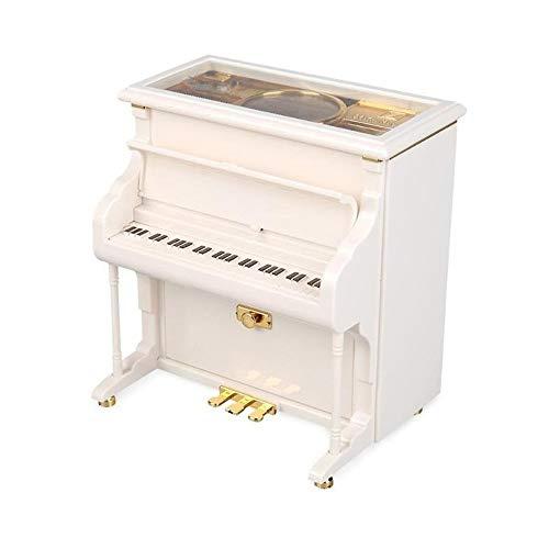 Music Box Klassieke Vintage Movement Girl Ballerina Music Box Romantic Classic Mini Piano Model Ratio Music Box QPLNTCQ