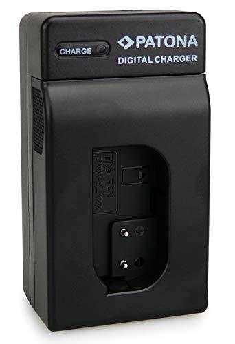 PATONA Caricabatteria per DMW-BLK22 Batteria compatibile con Panasonic DC-S5, G9, GH5, GH5S