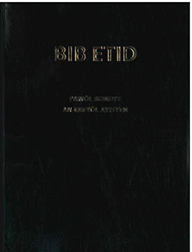 Haitian Study Bible Black Vinyl BIB ETID Pawol Bondye An Kreyol Alisten