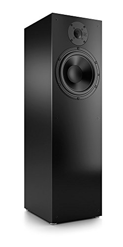 Nubert nuBox 483 Standlautsprecher | Lautsprecher für Stereo & Musikgenuss | Heimkino & HiFi Qualität auf hohem Niveau | Passive Standbox mit 2 Wege Technik | Kompakte Standbox Schwarz | 1 Stück