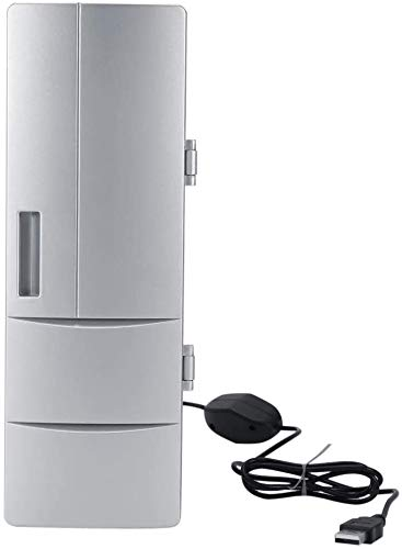 Yonhchop Compact Portable Mini USB Fridge Freezer Warmer Cooler...