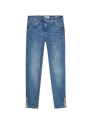 Oltre : Skinny Jeans met sierstenen, model Parijs (Italian Size)